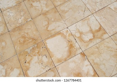 Marble floor tile background texture.
