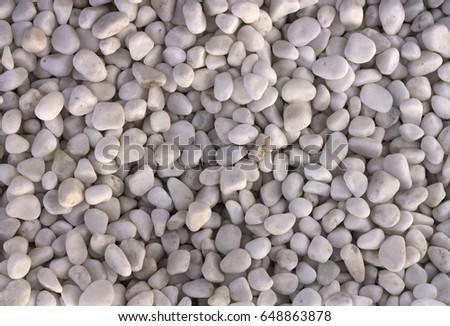 Marble Granite Pebbles Landscape Design Home Stock Photo (Edit Now