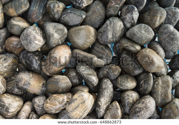 Marble Granite Pebbles Landscape Design Home Stock Photo Edit Now