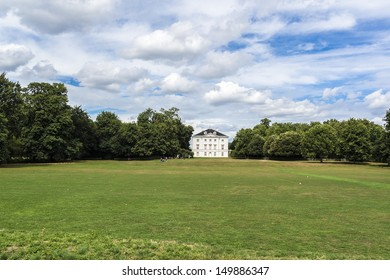 Marble Hill House (architect Roger Morris) is on northern banks of River Thames, situated halfway between Richmond and Twickenham, UK. Marble Hill House is a beautiful 18th Century Palladian Villa.
