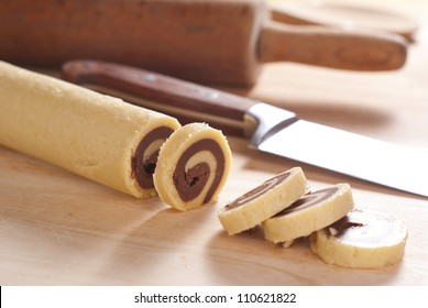 Marble Pinwheel Cookies. Unsharpened file