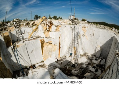 marble quarry, baikal, russia, July 2016