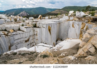 marble quarry, mining