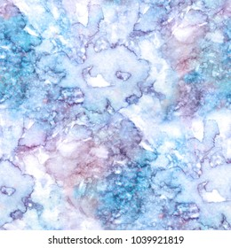 Marble seamless pattern. Repeat colorful art background texture. Abstract Watercolor illustration