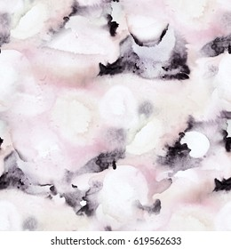 Marble seamless texture pattern.  Abstract colorful trendy ink modern background.
