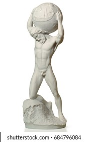 marble statue of a man in a Greek style