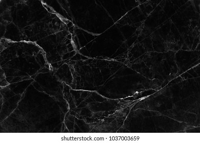 ?Black marble texture with natural pattern for background interior or product design.