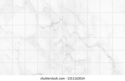 Marble tiles floor and wall texture patterned background.