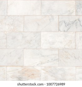 Marble tiles seamless wall texture patterned background.
