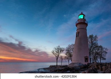 Marblehead Lighthouse at Dawn