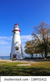 The Marblehead Lighthouse on Lake Erie