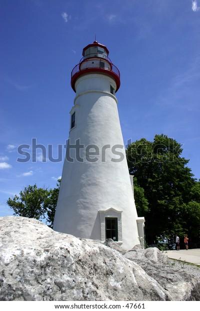 Marblehead Lighthouse in Port Clinton Ohio
