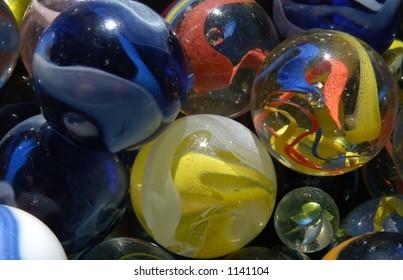 Marbles Closeup