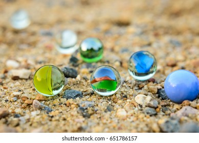 Marbles for play