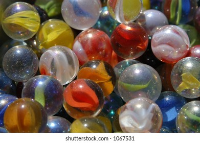 Marbles in Sunlight