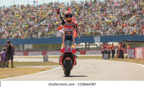 Marc Marquez during MotoGP Motul TT Assen race in TT Circuit Assen (Assen - Netherlands) on July 1 2018