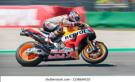 Marc Marquez during MotoGP Motul TT Assen race in TT Circuit Assen (Assen - Netherlands) on June 30 2018