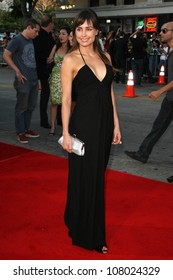 """Marcela Mar  at the World Premiere of """"Wanted"""". Mann Village Westwood, Westwood, CA. 06-19-08"""