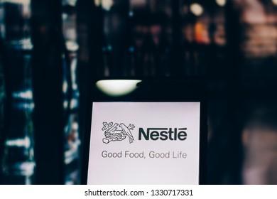 Nestle Logo Images, Stock Photos & Vectors   Shutterstock