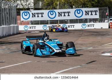 March 08, 2019 - St. Petersburg, Florida, USA: MAX CHILTON (59) of England goes through the turns during practice for the Firestone Grand Prix of St. Petersburg