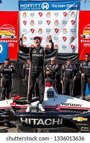 March 10, 2019 - St. Petersburg, Florida, USA: JOSEF NEWGARDEN (2) of the United States wins the Firestone Grand Prix of St. Petersburg at the Firestone Grand Prix of St. Petersburg