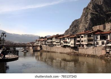 MARCH 11,2012 AMASYA TURKEY.Amasya is a city in northern Turkey . Amasya is located inside of the Black Sea Region.