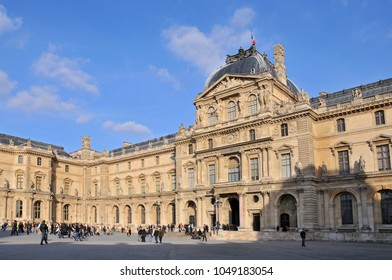 March 15, 2009. Louvre Museum the world's largest art museum and a historic monument in Paris, France.