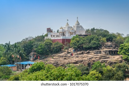 March 17,2017, A Jain Mandir is situated at the top of mountain in  Bhubaneshwar  , odisha, India.