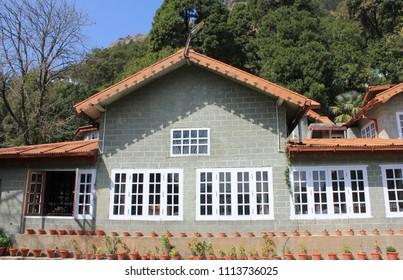 March 19, 2016, Nainital, Uttarakhand, India. The exteriors of Abbotsford Heritage Homestay built in 1876 in Nainital.
