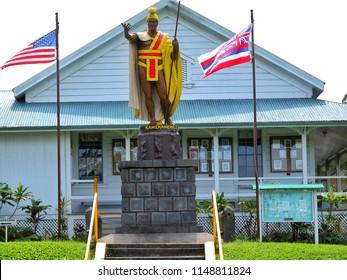 March 2 2004, Big Island Hawaii : King Kamehameha 1st