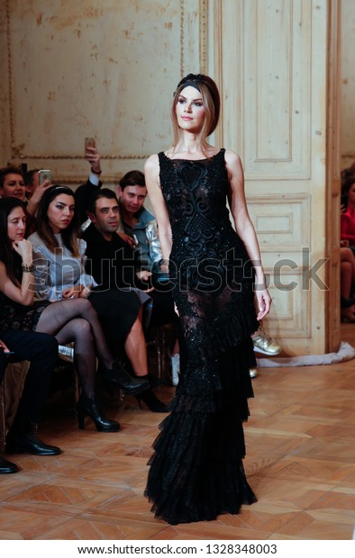 March 20 2017istanbul Turkeymodel Ms Tulin Beauty Fashion Stock Image 1328348003