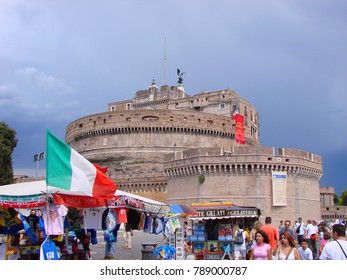 March 2010: Photo from iconic historic city of Rome with picturesque character, Italy