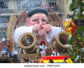 March 2010, Traditional day parade at the annual carnival in Patras, Peloponnese, Greece