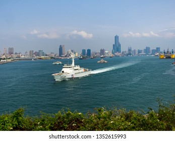 March 25 2019 - A view of the Kaohsiung City, Qijin District of Taiwan