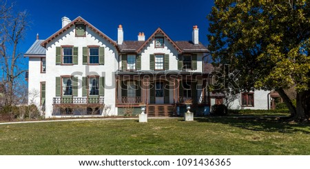 Cool March 26 2018 President Lincolns Cottage Stock Photo Edit Download Free Architecture Designs Barepgrimeyleaguecom