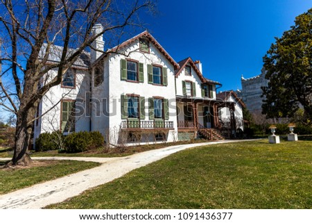 Admirable March 26 2018 President Lincolns Cottage Stock Photo Edit Download Free Architecture Designs Barepgrimeyleaguecom