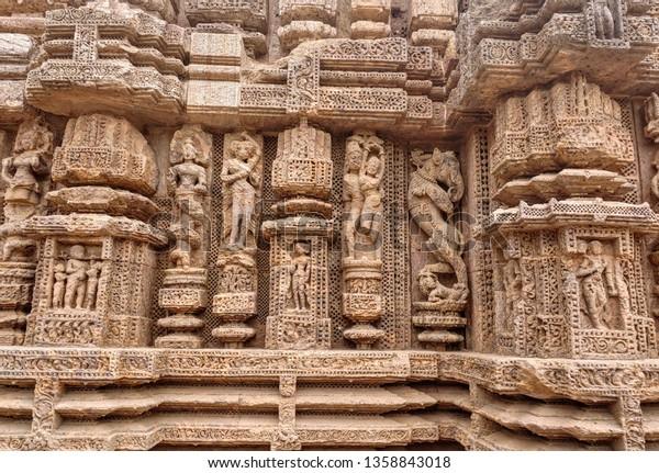 March 312019 Ancient Indian Architecture Konark Stock Photo (Edit