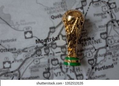 March 4, 2019, Montreal, Canada. Montreal is one of the host cities of FIFA World Cup 2026 which will be held in the USA, Canada and Mexico.