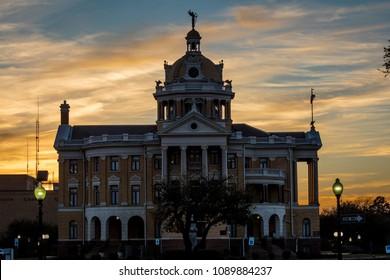MARCH 6, 2018 - MARSHALL TEXAS - Marshall Texas Courthouse-Harrison County Courthouse, Marshall, Texas