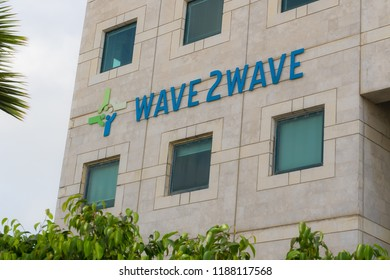 March 9, 2018 - Rosh Ha'ayin, Israel. Wave2Wave offices in Israel.