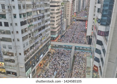 March against Hong Kong Extradition Bill 9 June 2019