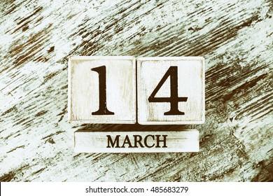 March Fourteen Calendar