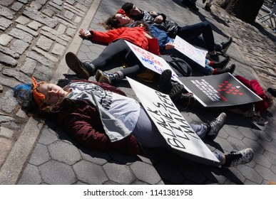 March For Our lives, New York, NY, March 24, 2018.