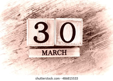 March Thirty Calendar