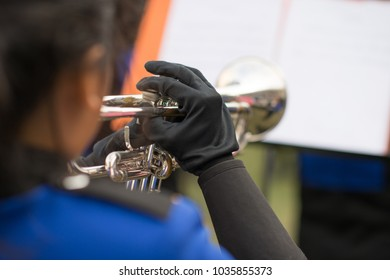 marching band player