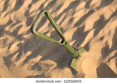 Sapper Shovel Images, Stock Photos & Vectors | Shutterstock