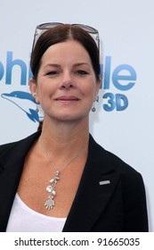 """Marcia Gay Harden at the """"Dolphin Tale"""" World Premiere, Village Theater, Westwood, CA 09-17-11"""