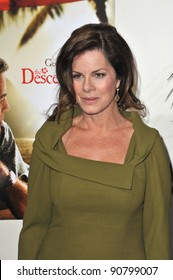 """Marcia Gay Harden at the Los Angeles premiere of """"The Descendants"""" at the Samuel Goldwyn Theatre in Beverly Hills. November 15, 2011  Beverly Hills, CA Picture: Paul Smith / Featureflash"""
