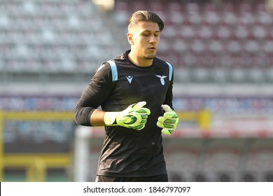 Marco Alia of SS Lazio during the Serie A match between Torino FC and SS Lazio at Olympic Grande Torino Stadium on November 01, 2020 in Turin, Italy.