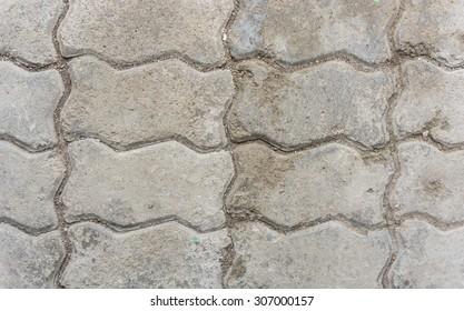 marco of dirty bricks floor, background